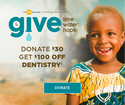 Donate $30, Get $100 Off Dentistry - Cartersville Dentist Office